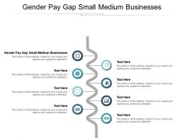 Gender Pay Gap Small Medium Businesses Ppt Powerpoint Presentation Summary Infographics Cpb