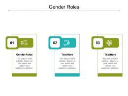 Gender Roles Ppt Powerpoint Presentation Slides Background Image Cpb