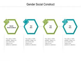 Gender Social Construct Ppt Powerpoint Presentation Portfolio Aids Cpb