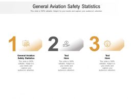General Aviation Safety Statistics Ppt Powerpoint Presentation Ideas Graphics Cpb