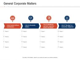 General Corporate Matters Fraud Investigation Ppt Powerpoint Presentation Icon Templates
