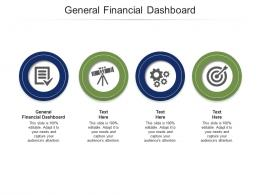 General Financial Dashboard Ppt Powerpoint Presentation Infographics Aids Cpb