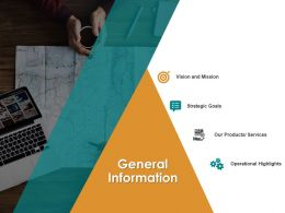 General Information Mission M2610 Ppt Powerpoint Presentation Gallery Topics