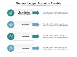 General Ledger Accounts Payable Ppt Powerpoint Presentation File Slides