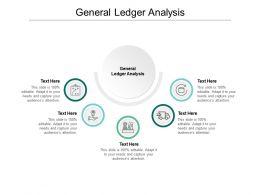 General Ledger Analysis Ppt Powerpoint Presentation Professional Slides Cpb