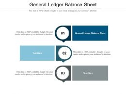 General Ledger Balance Sheet Ppt Powerpoint Presentation Layouts Grid Cpb