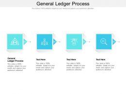 General Ledger Process Ppt Powerpoint Presentation Slides Influencers Cpb