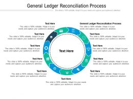 General Ledger Reconciliation Process Ppt Powerpoint Presentation Microsoft Cpb