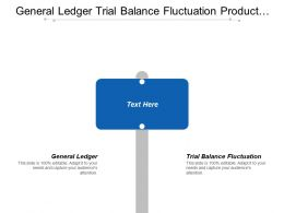 General Ledger Trial Balance Fluctuation Product Life Cycle