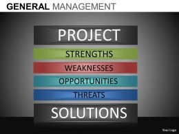 General Management Powerpoint Presentation Slides DB