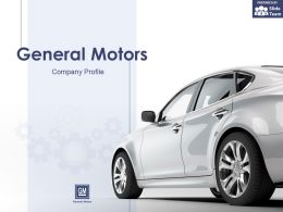 General Motors Company Profile Overview Financials And Statistics From 2014-2018