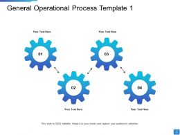 General Operational Process Operational Methods Ppt Outline Background Image