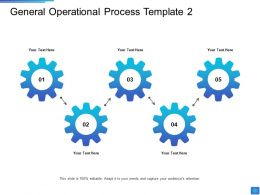 General Operational Process Operational Methods Ppt Outline Designs Download