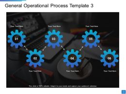 General Operational Process Operational Methods Ppt Outline Example Introduction