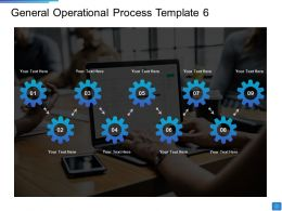 General Operational Process Operational Methods Ppt Pictures Background Images