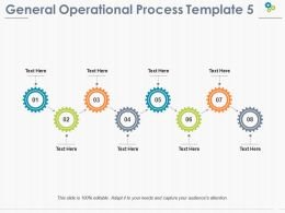 General Operational Process Ppt Pictures Background Image