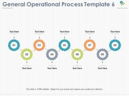 General Operational Process Ppt Pictures Design Templates