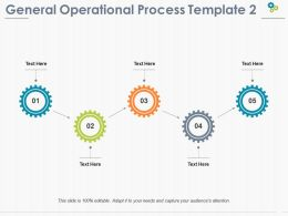 General Operational Process Ppt Pictures Infographic Template