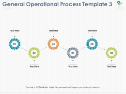 General Operational Process Ppt Pictures Professional