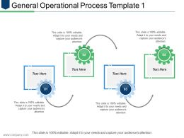 General Operational Process Template 1 Ppt Infographic Template Graphics