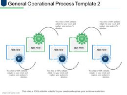 General Operational Process Template 2 Ppt Inspiration Guidelines