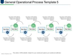 General Operational Process Template 5 Ppt Model Guide