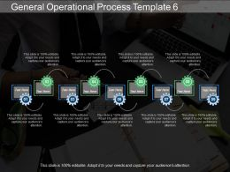 General Operational Process Template 6 Ppt Ideas