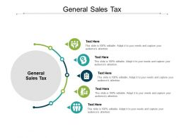 General Sales Tax Ppt Powerpoint Presentation Inspiration Example Introduction Cpb