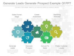 Generate Leads Generate Prospect Example Of Ppt