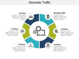 Generate Traffic Ppt Powerpoint Presentation Ideas Show Cpb