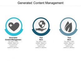 Generated Content Management Ppt Powerpoint Presentation Summary Microsoft Cpb