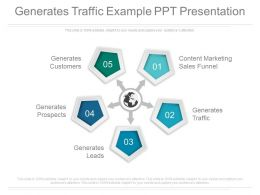 Generates Traffic Example Ppt Presentation