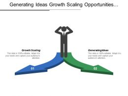 Generating Ideas Growth Scaling Opportunities Challenges Developing Testing