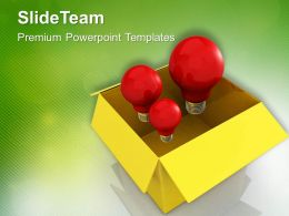 Generating Innovative Ideas PowerPoint Templates PPT Themes And Graphics 0513