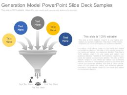 Generation Model Powerpoint Slide Deck Samples