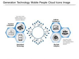 Generation Technology Mobile People Cloud Icons Image
