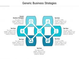 Generic Business Strategies Ppt Powerpoint Presentation Visual Aids Files Cpb