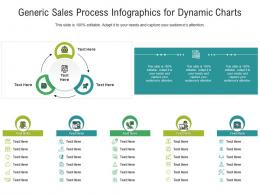 Generic Sales Process Infographics For Dynamic Charts Infographic Template