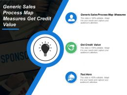 Generic Sales Process Map Measures Get Credit Value