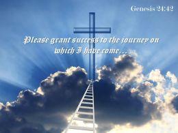 Genesis 24 42 Please grant success PowerPoint Church Sermon