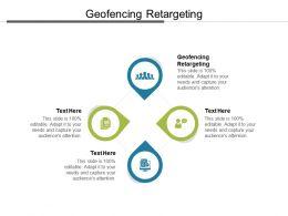 Geofencing Retargeting Ppt Powerpoint Presentation Infographics Slide Portrait Cpb
