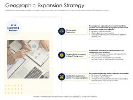 Geographic Expansion Strategy Alternative Financing Pitch Deck Ppt Gallery Samples