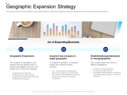 Geographic Expansion Strategy Equity Crowdsourcing Pitch Deck Ppt Icon Smartart