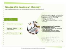 Geographic Expansion Strategy European Companies Ppt Powerpoint Presentation File Rules