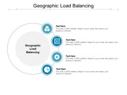 Geographic Load Balancing Ppt Powerpoint Presentation Infographics Slide Cpb