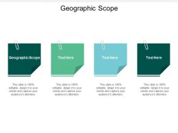 Geographic Scope Ppt Powerpoint Presentation Model Show Cpb