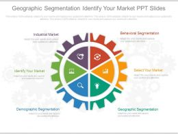 Geographic Segmentation Identify Your Market Ppt Slide