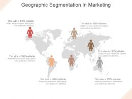 Geographic Segmentation In Marketing Powerpoint Templates