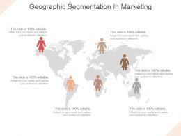 Geographic Segmentation In Marketing Powerpoint Templates