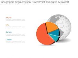 Geographic Segmentation Powerpoint Templates Microsoft